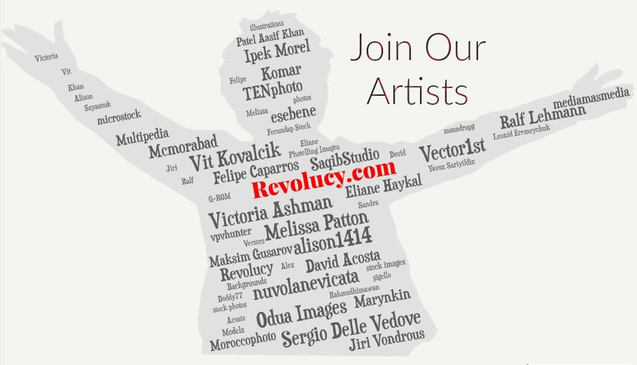 revolucy contributors artists microstock
