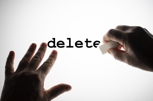 delete remove images photos portfolio protest shutterstock text hands