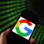 google logo smartphone screen dreamstime legal court case