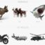 3d models turbosquid shutterstock cats dog motorbike shark